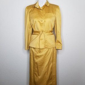 Vintage 60s Single Breasted Skirt Suit